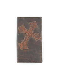Men's Chocolate with Brown Cross Patch