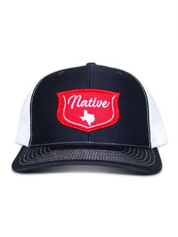 Men's Native Navy with White
