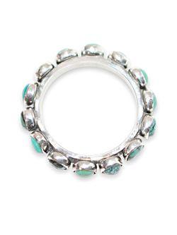 Richard Schmidt  All Around Turquoise Ring