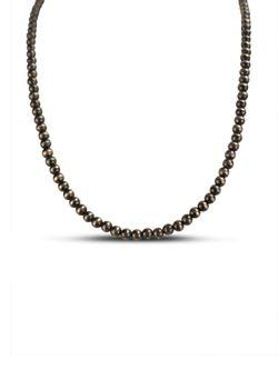 Richard Schmidt Navajo Silver Pear Necklace