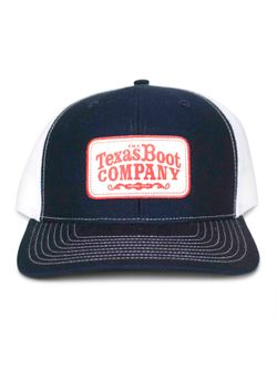 Men's TBC Navy Blue with Red Patch