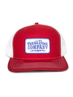 Men's TBC Red with White Patch
