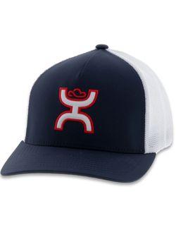 Men's Hooey Hat Coach Navy White