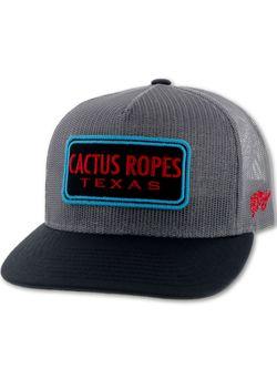 Men's Hooey Hats Cactus Ropes Gray Black