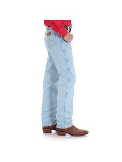 Men's Wrangler Light Wash Original Fit Jeans