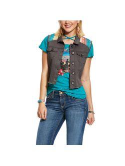 Ladies Ariat Gray June Vest