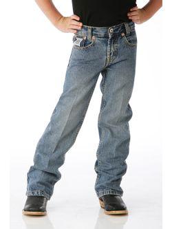 Boys Cinch Regular White Lab Jeans