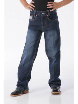 Boys Cinch White Label Dark Jeans