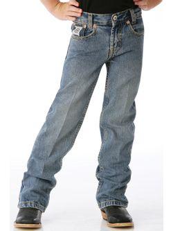 Boys Cinch Slim White Label Jeans
