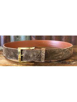"Men's Chacon Genuine Hippo 1 1/2"" Belt"