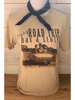 Ladies Texas Boot Co Road Trip Tee Short Sleeve Shirt