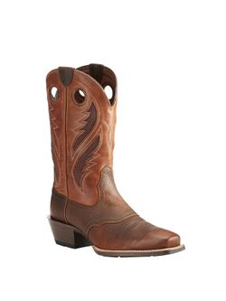 Men's Venttek™ Narrow Square Toe Ultra Brown Oiled Rowdy/Two Tone Tan