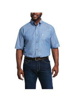 Men's Rossmoor Print Classic Fit Shirt