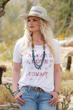 WOMEN-S--ALWAYS-LOVE-A-COWBOY--TEE-240934