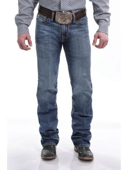 MEN'S SLIM FIT IAN JEAN MEDIUM STONEWASH