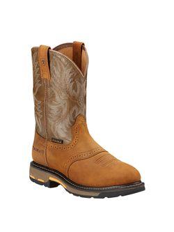 Men's Ariat Workhog Boots Soft Round Toe