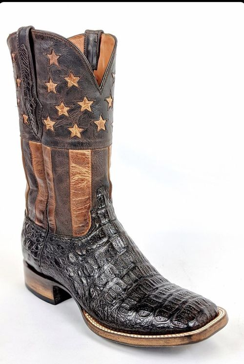 Black Jack 'All American' Chocolate Horrnback Caiman