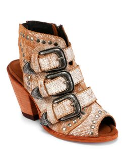 Ladies Liberty Black Cobre Mantequilla