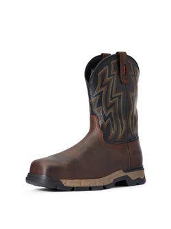 Men's Ariat Rebar Western Flex H2O Composite Work Boots