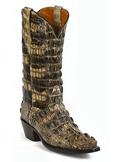 Mens Black Jack El Patron American Alligator Cowboy Boot Pre-Order