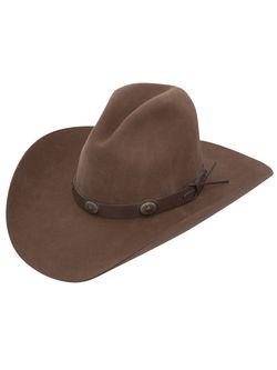 Mens Stetson Boot Hill Acorn Wool Hat
