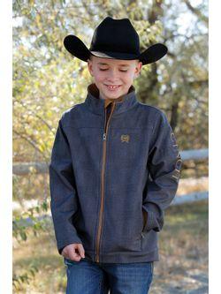 Boys Cinch Charcoal Bonded Jacket