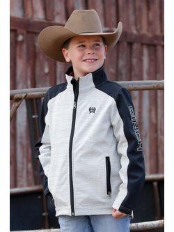 Boys Cinch Gray Bonded Jacket