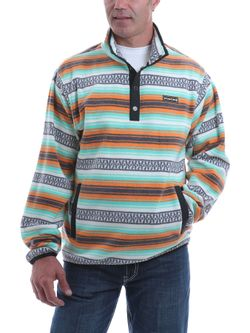 Mens Cinch Multi-Color Fleece