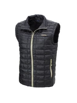 Mens Resistol Black Puff Vest