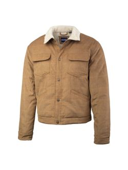 Mens Resistol Brown Corduroy Jacket