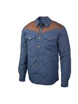 Mens Resistol Blue Work Shirt Jacket
