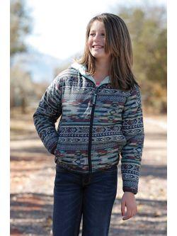 Girls Cruel Girl Reversible Multi Jacket