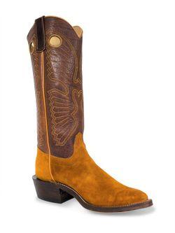 Mens Olathe Wheatbuck Waxy Kudu Canelo Navajo Cowboy Boots