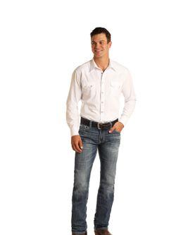 Mens Panhandle Slim Revolver Jeans