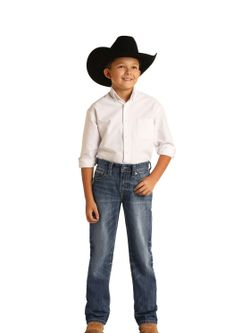 Boys Panhandle Slim Reflex Jean