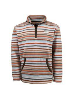 Mens Hooey Pullover Cream & Stripe