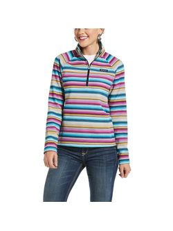 Ladies Ariat 1/4 Serape Print Pullover