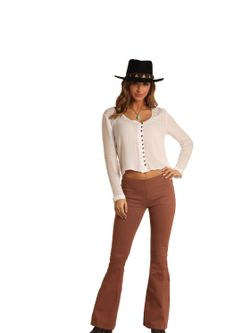 Ladies Panhandle Slim Blush Flare