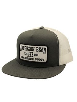 Men's Anderson Bean Charcoal and White Anderson Bean Patch