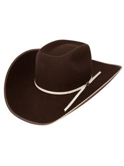 Mens Resistol Snake Eyes Cordova Wool Hat