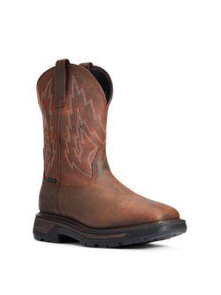 Mens Ariat Big Rigg Soft Toe Boots