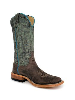 Mens Anderson Bean Charcoal Boar Cowboy Boots