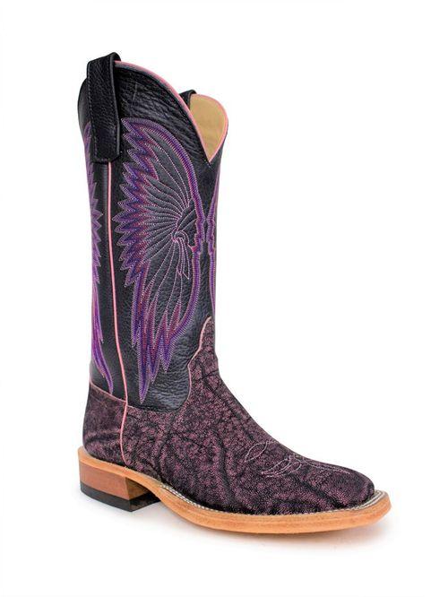 Ladies Anderson Bean Pink Safari Elephant Boots