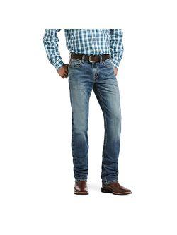 Mens Ariat M5 Tanner Straight Leg Jeans