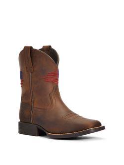 Kids Ariat Patriot Boots