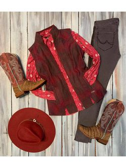Cranberry and Plaid