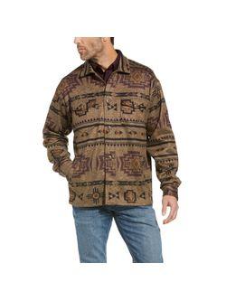 Mens Ariat Brindle Hatcher Fleece Long Sleeve