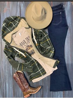 Plaid Green Cowgirl