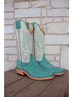 Ladies Olathe Wintergreen  Cowgirl Boots