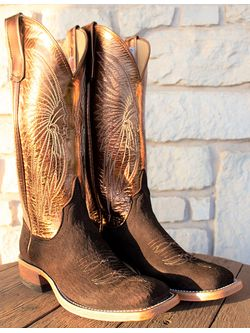 Ladies Anderson Bean Bronze  Winema  Cowgirl Boots